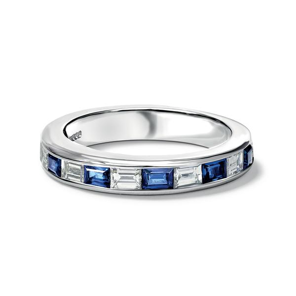 5db3f770b16c3 Natasha Sapphire and Diamond Eternity Ring - Cassandra Goad